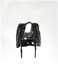 jacket on chair